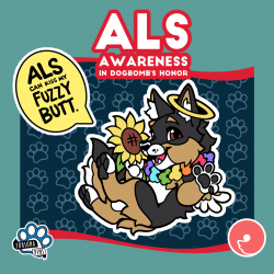 ALS Charity Dogbomb Pin and Curlworks Speech Bubble Pin (PREORDER)